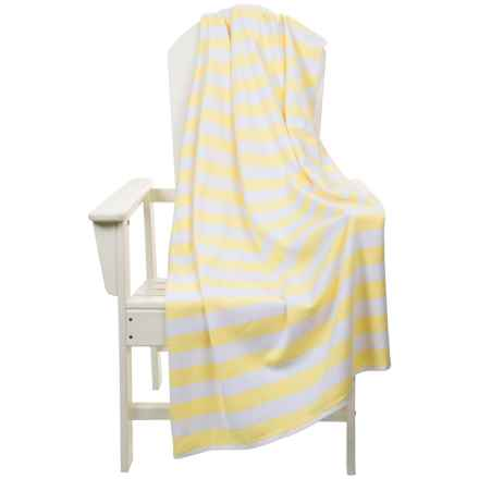 "The Turkish Towel Company Beach Towel and Tote Bag - 35x68"" in Sunshine - 2nds"