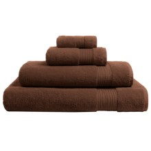 The Turkish Towel Company Essence Collection Bath Towel - Turkish Cotton in Chocolate - Overstock
