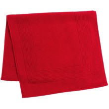 The Turkish Towel Company Essence Tub Mat - Turkish Cotton in Scarlet - Closeouts