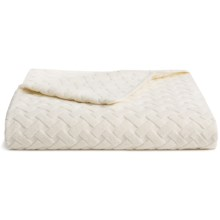 The Turkish Towel Company Jacquard Beach Towel/Chaise Lounge Cover in Ivory - Closeouts