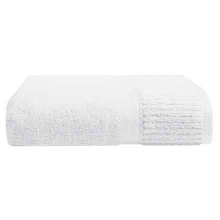 The Turkish Towel Company Lexi Collection Bath Sheet in White - Closeouts