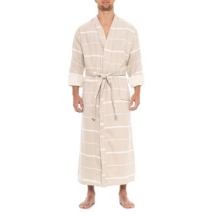 The Turkish Towel Company PeshTerry® Robe - Long Sleeve (For Men and Women) 01771e4f6