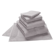 The Turkish Towel Company Sultan Bath Sheet - Turkish Cotton in Silver - Overstock