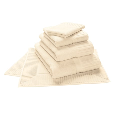 The Turkish Towel Company Sultan Bath Towel - Turkish Cotton in Candlelight