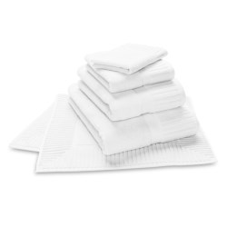 The Turkish Towel Company Sultan Tub Mat - Turkish Cotton in White