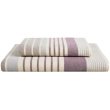 The Turkish Towel Company Symphony Peshterry® Bath Towel in Plum - Closeouts