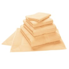 The Turkish Towel Company Zenith Bath Sheet - Turkish Cotton in Butter Cream - Closeouts