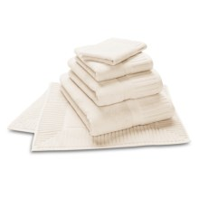The Turkish Towel Company Zenith Bath Sheet - Turkish Cotton in Candlelight - Closeouts