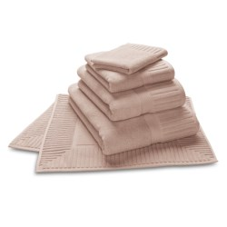 The Turkish Towel Company Zenith Bath Sheet - Turkish Cotton in Candlelight