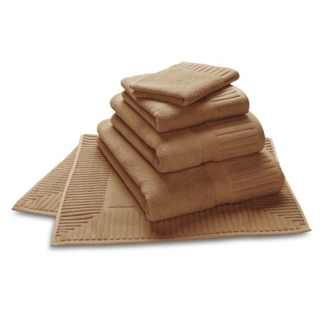 The Turkish Towel Company Zenith Hand Towel - Turkish Cotton in Fawn