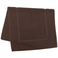 The Turkish Towel Company Zenith Tub Mat - Turkish Cotton in Espresso - Closeouts