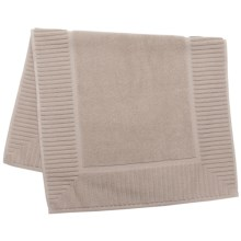 The Turkish Towel Company Zenith Tub Mat - Turkish Cotton in Sand - Closeouts