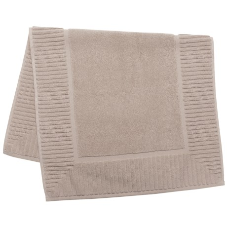 The Turkish Towel Company Zenith Tub Mat - Turkish Cotton in Sand