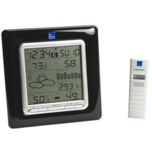 The Weather Channel Wireless Forecast Station in See Photo - Closeouts