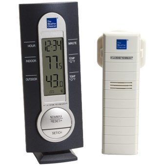 The Weather Channel Wireless Thermometer in See Photo
