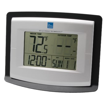 The Weather Channel Wireless Weather Station - Solar-Powered Outdoor Sensor in See Photo
