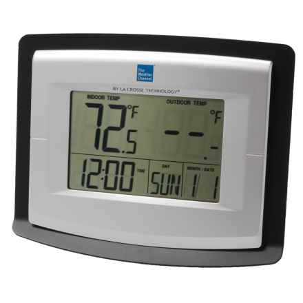 The Weather Channel Wireless Weather Station - Solar-Powered Outdoor Sensor in See Photo - Overstock