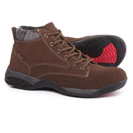Therafit Dakota Boots - Suede (For Women) in Brown