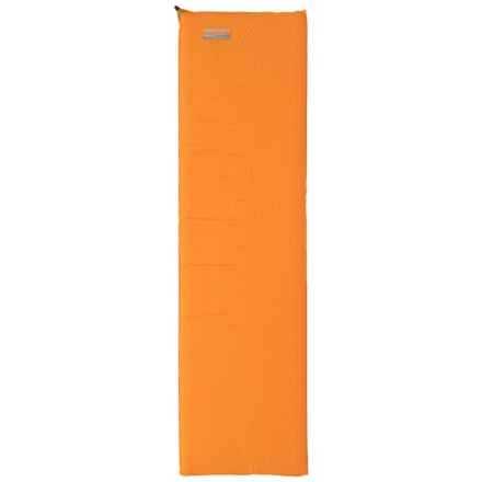 Therm-a-Rest Backpacker Plus Sleeping Pad - Self-Inflating, Regular in Orange - Closeouts