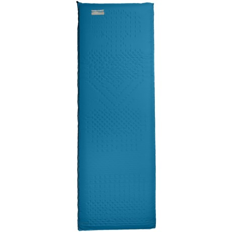 Therm-a-Rest Camper Deluxe Sleeping Pad - Self-Inflating, Large in Blue