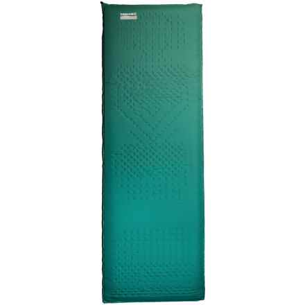 Therm-a-Rest Camper Deluxe Sleeping Pad - Self-Inflating, Large in Green - Closeouts