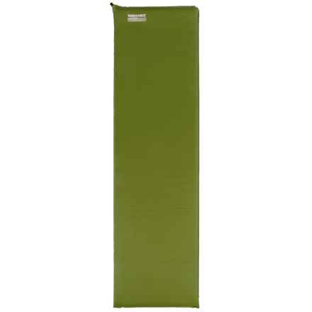 Therm-a-Rest CampRest LE Sleeping Pad - Self-Inflating, Large in Green - Closeouts