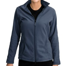 ThermaCheck 100 Fleece Jacket - Full Zip (For Women) in Navy - 2nds