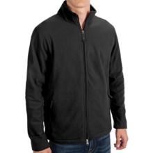 ThermaCheck 100 Fleece Jacket - Zip Front (For Men) in Black - 2nds