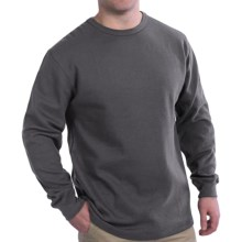 Thermal Shirt - Long Sleeve (For Men) in Charcoal - 2nds