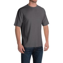 Thermal T-Shirt - Rayon Blend, Short Sleeve (For Men and Big Men) in Black - 2nds