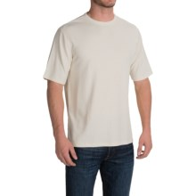 Thermal T-Shirt - Rayon Blend, Short Sleeve (For Men and Big Men) in White - 2nds