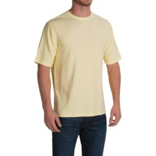 Thermal T-Shirt - Rayon Blend, Short Sleeve (For Men and Big Men) in Yellow - 2nds