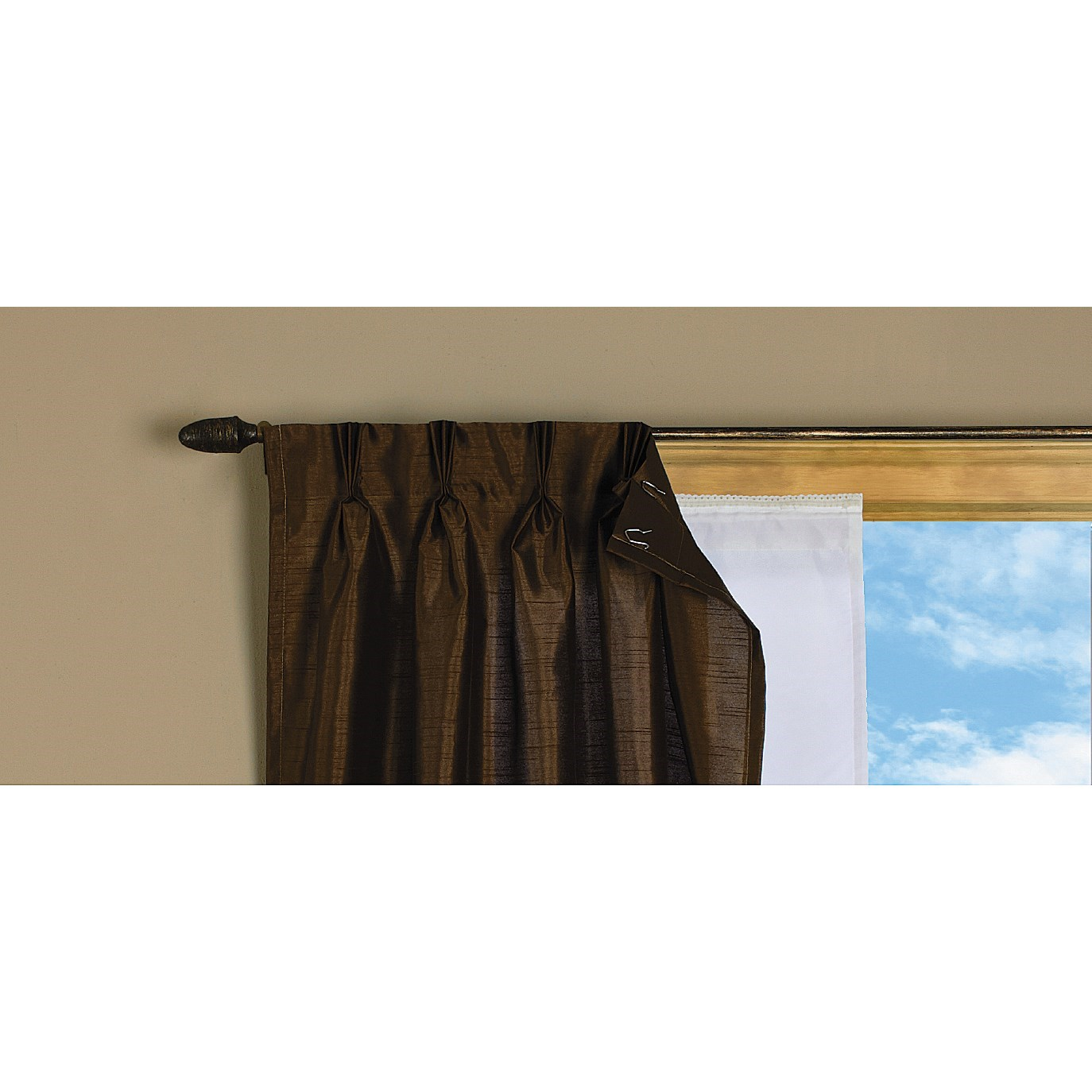 Thermalogic Ideal Liner Curtain Panel 50x77 9705n