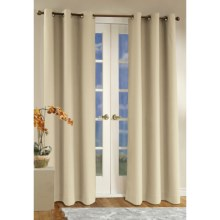 "Thermalogic Weathermate Curtain - 80x 63,"" Grommet-Top, Insulated in Natural - Overstock"