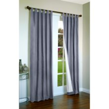 "Thermalogic Weathermate Curtains - 160x 84"", Tab-Top, Insulated in Blue - Overstock"
