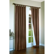"Thermalogic Weathermate Curtains - 160x 84"", Tab-Top, Insulated in Chocolate - Overstock"