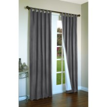 "Thermalogic Weathermate Curtains - 80x 84"", Tab-Top, Insulated in Pewter - Overstock"