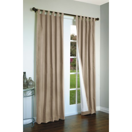 "Thermalogic Weathermate Curtains - 80x63"", Tab-Top, Insulated in Khaki"