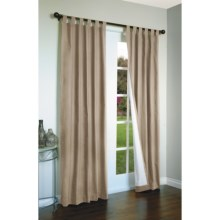 "Thermalogic Weathermate Curtains - 80x72"", Tab-Top, Insulated in Khaki - Overstock"
