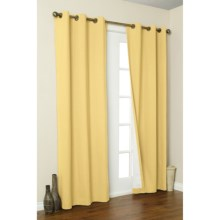 """Thermalogic Weathermate Curtains - 80x84"""", Grommet-Top, Insulated in Yellow - Overstock"""