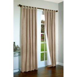 "Thermalogic Weathermate Curtains - 80x84"", Tab-Top, Insulated in Natural"