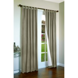 """Thermalogic Weathermate Curtains - 80x84"""", Tab-Top, Insulated in Natural"""