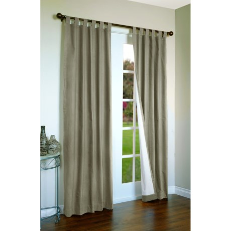 """Thermalogic Weathermate Curtains - 80x84"""", Tab-Top, Insulated in Sage"""