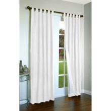 "Thermalogic Weathermate Curtains - 80x84"", Tab-Top, Insulated in White - Overstock"