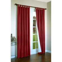 "Thermalogic Weathermate Curtains - 80x95"", Tab-Top, Insulated in Burgundy - Overstock"