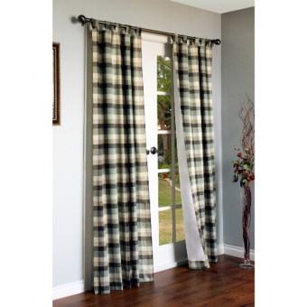 "Thermalogic Weathermate Mansfield Curtains - 63"", Tab Top, Insulated in Sage"