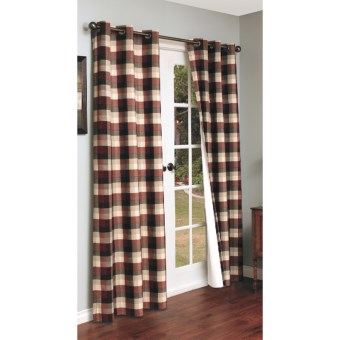 "Thermalogic Weathermate Mansfield Curtains - 84"", Grommet Top, Insulated in Terracotta"