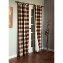 "Thermalogic Weathermate Mansfield Curtains - 84"", Tab Top, Insulated in Terracotta - Closeouts"