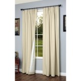"""Thermalogic Weathermate Pinch Pleat Curtains - 72x95"""", Insulated"""
