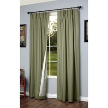 "Thermalogic Weathermate Pinch Pleat Curtains - 95"" in Sage - Closeouts"